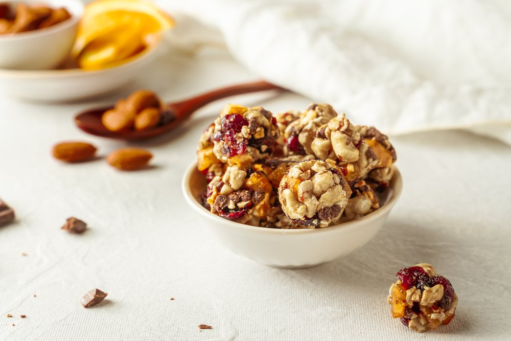 Oat-based energy balls are a great way to eat lean and should be on your list of recovery foods