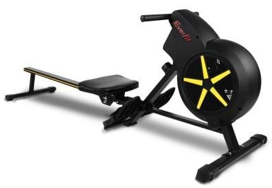 Everfit 8 level air resistance rowing machine