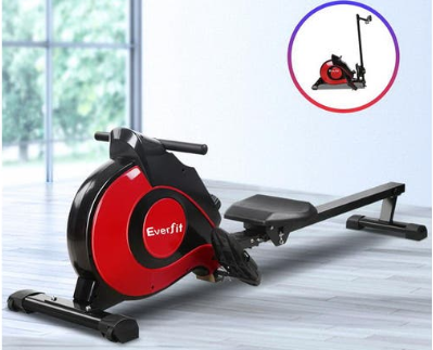 Everfit magnetic rowing machine