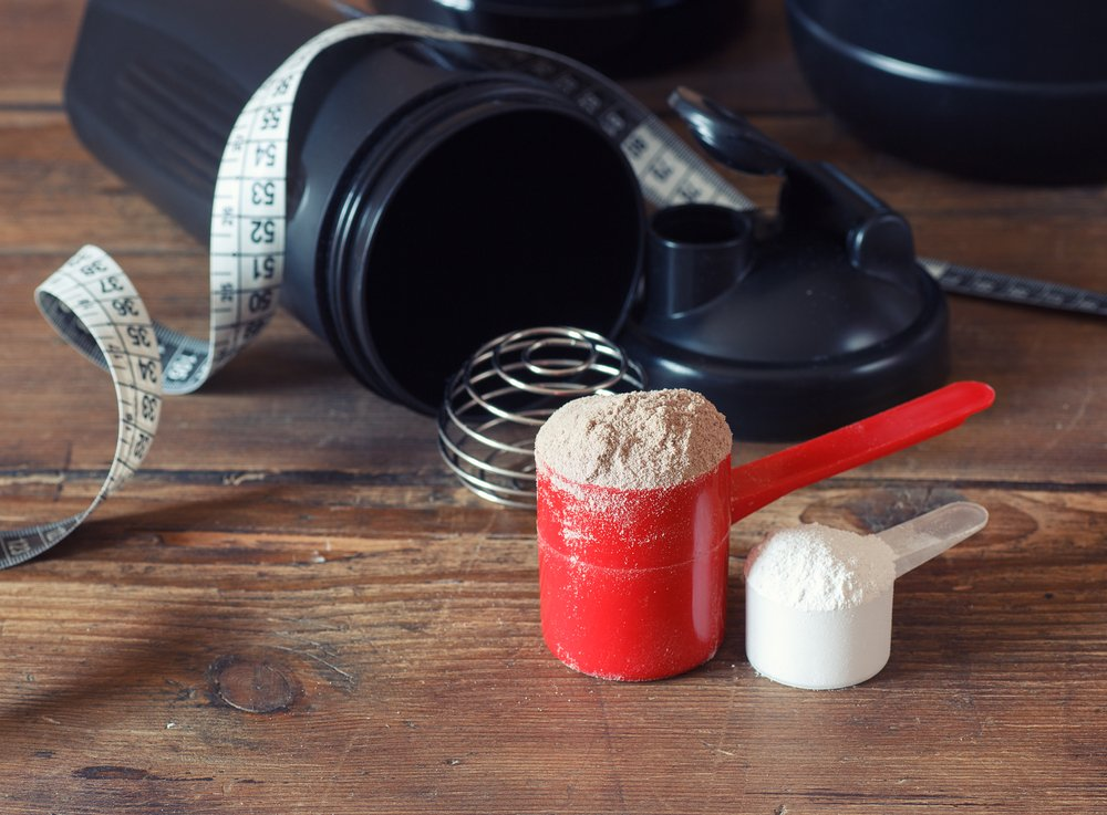 Whey and Casein Blended Protein Powder