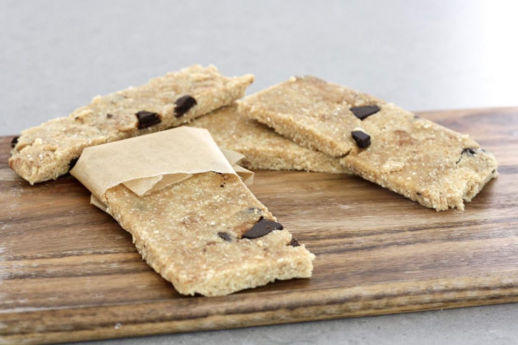 No Bake Peanut Butter Choc Protein Bars - healthy and delicious